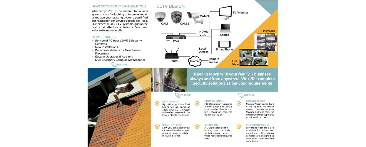 CCTV Services Brochure